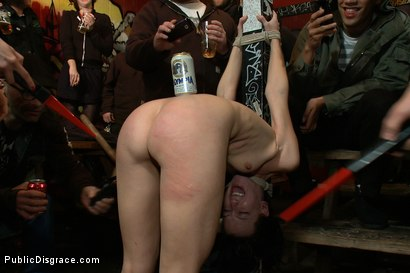 Photo number 2 from Total Awesomeness shot for Public Disgrace on Kink.com. Featuring Elise Graves, Tommy Pistol and Princess Donna Dolore in hardcore BDSM & Fetish porn.