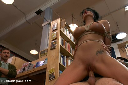 Photo number 9 from Bookstore Banging shot for Public Disgrace on Kink.com. Featuring Tommy Pistol and Bailey Brooks in hardcore BDSM & Fetish porn.