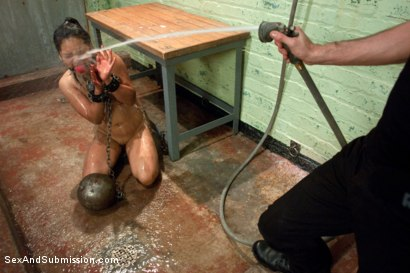Photo number 11 from Struggle and Takedown shot for Sex And Submission on Kink.com. Featuring James Deen and Lana Violet in hardcore BDSM & Fetish porn.