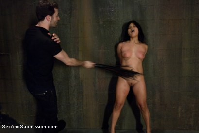Photo number 4 from Struggle and Takedown shot for Sex And Submission on Kink.com. Featuring James Deen and Lana Violet in hardcore BDSM & Fetish porn.