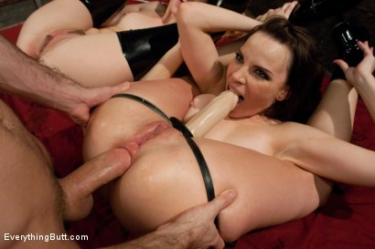 Photo number 12 from Little Emma's Big Hole shot for Everything Butt on Kink.com. Featuring James Deen, Dana DeArmond and Emma Haize in hardcore BDSM & Fetish porn.