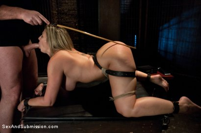 Photo number 8 from The Submission of Sara Jay shot for Sex And Submission on Kink.com. Featuring Mark Davis and Sara Jay in hardcore BDSM & Fetish porn.