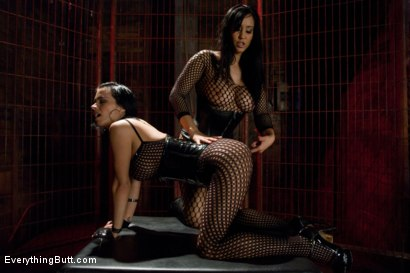 Photo number 2 from Fishnet Anal shot for Everything Butt on Kink.com. Featuring Anthony Rosano, Isis Love and Bailey Brooks in hardcore BDSM & Fetish porn.
