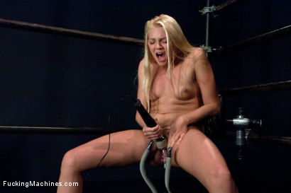 Photo number 12 from Porn Ambitions: 18 year old Blonde Straight Out of Miami to the Castle shot for Fucking Machines on Kink.com. Featuring Jesse Andrews in hardcore BDSM & Fetish porn.