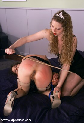Photo number 3 from Lena Ramon and Princess Kali shot for Whipped Ass on Kink.com. Featuring Lena Ramon and Princess Kali in hardcore BDSM & Fetish porn.