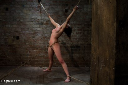 Super cute next door gets bound by perverted couple Stripped, flogged, fingered and made to cum!