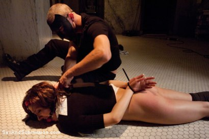 Photo number 4 from Dreaming of You shot for Sex And Submission on Kink.com. Featuring Mr. Pete and Evilyn Fierce in hardcore BDSM & Fetish porn.