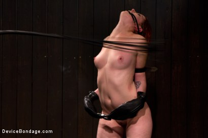Photo number 2 from Pussy Punishment shot for Device Bondage on Kink.com. Featuring Sloane Soleil in hardcore BDSM & Fetish porn.
