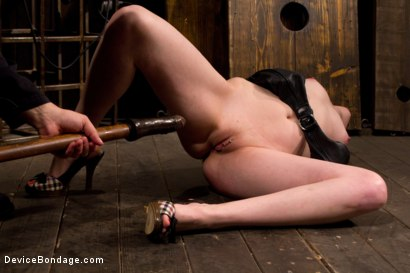 Photo number 4 from Pussy Punishment shot for Device Bondage on Kink.com. Featuring Sloane Soleil in hardcore BDSM & Fetish porn.