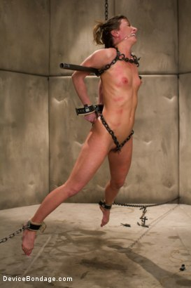 Photo number 6 from Ariel X. Enough said.   Countdown to Relaunch-15 of 20 shot for Device Bondage on Kink.com. Featuring Ariel X in hardcore BDSM & Fetish porn.