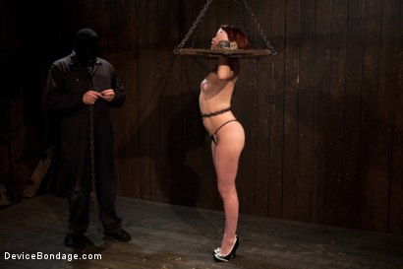 Photo number 15 from Sarge's Little Slut shot for Device Bondage on Kink.com. Featuring Lilla Katt in hardcore BDSM & Fetish porn.