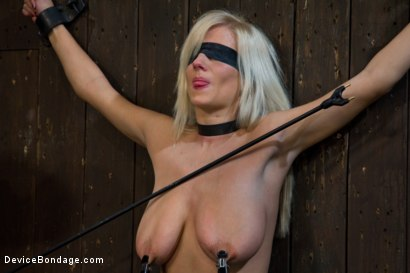 Photo number 11 from This bitch is bangin'. shot for Device Bondage on Kink.com. Featuring Haley Cummings in hardcore BDSM & Fetish porn.