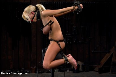 Photo number 7 from This bitch is bangin'. shot for Device Bondage on Kink.com. Featuring Haley Cummings in hardcore BDSM & Fetish porn.