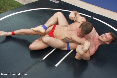Photo number 1 from Trent Diesel vs Paul Wagner shot for Naked Kombat on Kink.com. Featuring Trent Diesel and Paul Wagner in hardcore BDSM & Fetish porn.