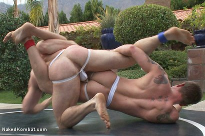 Photo number 5 from Trent Diesel vs Paul Wagner shot for Naked Kombat on Kink.com. Featuring Trent Diesel and Paul Wagner in hardcore BDSM & Fetish porn.