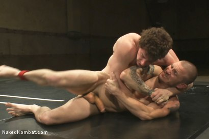 Photo number 7 from Brenn Wyson vs Jeremy Tyler shot for Naked Kombat on Kink.com. Featuring Brenn Wyson and Jeremy Tyler in hardcore BDSM & Fetish porn.