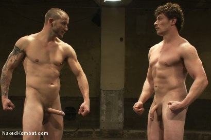 Photo number 15 from Brenn Wyson vs Jeremy Tyler shot for Naked Kombat on Kink.com. Featuring Brenn Wyson and Jeremy Tyler in hardcore BDSM & Fetish porn.
