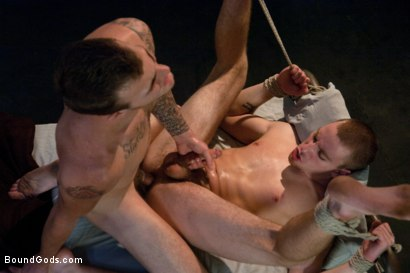 Photo number 14 from The Bounty Hunter shot for Bound Gods on Kink.com. Featuring Sebastian Keys and Christian Wilde in hardcore BDSM & Fetish porn.
