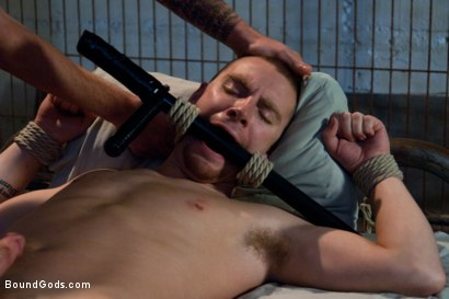 Photo number 12 from The Bounty Hunter shot for Bound Gods on Kink.com. Featuring Sebastian Keys and Christian Wilde in hardcore BDSM & Fetish porn.