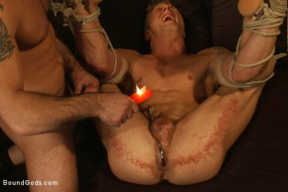 Photo number 8 from Spencer Reed and Phillip Aubrey Part One<br/>Real Life Couple Series shot for Bound Gods on Kink.com. Featuring Spencer Reed and Phillip Aubrey in hardcore BDSM & Fetish porn.