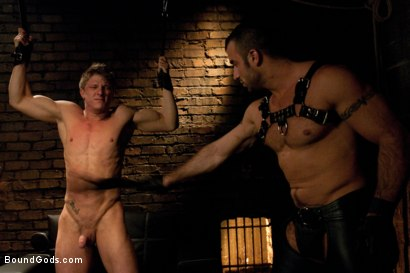 Photo number 2 from Spencer Reed and Phillip Aubrey Part One<br/>Real Life Couple Series shot for Bound Gods on Kink.com. Featuring Spencer Reed and Phillip Aubrey in hardcore BDSM & Fetish porn.