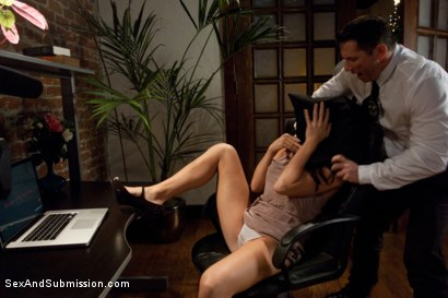 Photo number 3 from Fantasy Squad shot for Sex And Submission on Kink.com. Featuring Chanel Preston, Mr. Pete and John Strong in hardcore BDSM & Fetish porn.