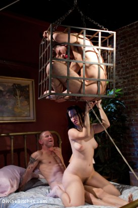 Photo number 6 from A Cuckold Comedy shot for Divine Bitches on Kink.com. Featuring Kimberly Kane, Brenn Wyson and DJ in hardcore BDSM & Fetish porn.