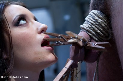 Photo number 1 from A Cuckold Comedy shot for Divine Bitches on Kink.com. Featuring Kimberly Kane, Brenn Wyson and DJ in hardcore BDSM & Fetish porn.
