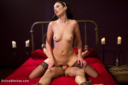 Photo number 10 from She Maid Him Do It shot for Divine Bitches on Kink.com. Featuring January Seraph and Adam Russo in hardcore BDSM & Fetish porn.