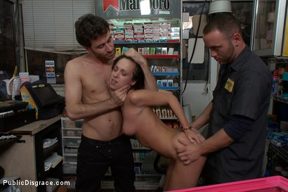 Photo number 11 from Gas Station Booty shot for Public Disgrace on Kink.com. Featuring James Deen and Jada Stevens in hardcore BDSM & Fetish porn.