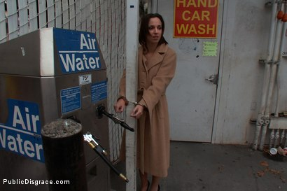 Photo number 8 from Gas Station Booty shot for Public Disgrace on Kink.com. Featuring James Deen and Jada Stevens in hardcore BDSM & Fetish porn.