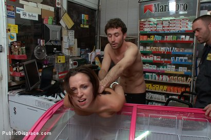 Photo number 9 from Gas Station Booty shot for Public Disgrace on Kink.com. Featuring James Deen and Jada Stevens in hardcore BDSM & Fetish porn.