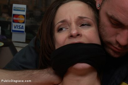 Photo number 14 from Gas Station Booty shot for Public Disgrace on Kink.com. Featuring James Deen and Jada Stevens in hardcore BDSM & Fetish porn.