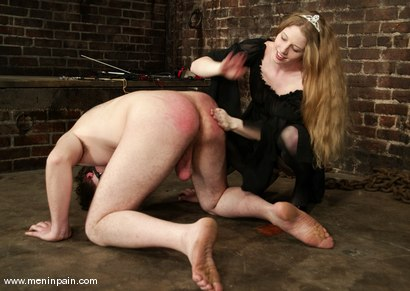 Photo number 13 from Princess Kali and Neil shot for Men In Pain on Kink.com. Featuring Princess Kali and Neil in hardcore BDSM & Fetish porn.