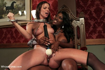 Photo number 4 from Nosey Maid shot for Whipped Ass on Kink.com. Featuring Nyomi Banxxx and Jada Stevens in hardcore BDSM & Fetish porn.