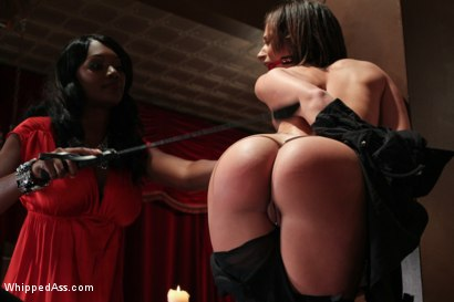 Photo number 9 from Nosey Maid shot for Whipped Ass on Kink.com. Featuring Nyomi Banxxx and Jada Stevens in hardcore BDSM & Fetish porn.