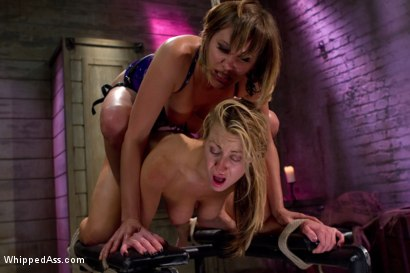 Photo number 8 from Yearning Slut shot for Whipped Ass on Kink.com. Featuring Maitresse Madeline Marlowe  and Carolyn Reese in hardcore BDSM & Fetish porn.