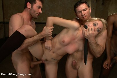 Photo number 3 from Pom Pom Girl gets Gang Banged by Basketball Coach and Team shot for Bound Gang Bangs on Kink.com. Featuring Emma Haize in hardcore BDSM & Fetish porn.