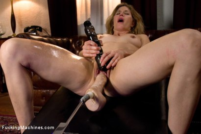Photo number 15 from MILF MACHINED <br> Big Dongs, Fast Machines, a Lady who Knows How to Cum shot for Fucking Machines on Kink.com. Featuring Abby Darling and Ariel X in hardcore BDSM & Fetish porn.