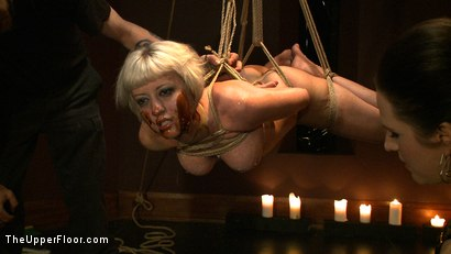 Photo number 16 from The Destruction of Torn shot for theupperfloor on Kink.com. Featuring Cherry Torn in hardcore BDSM & Fetish porn.