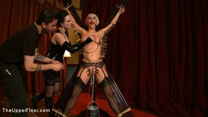 Photo number 27 from The Destruction of Torn shot for theupperfloor on Kink.com. Featuring Cherry Torn in hardcore BDSM & Fetish porn.