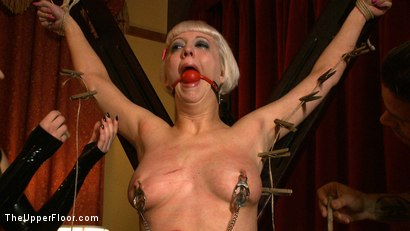 Photo number 26 from The Destruction of Torn shot for The Upper Floor on Kink.com. Featuring Cherry Torn in hardcore BDSM & Fetish porn.