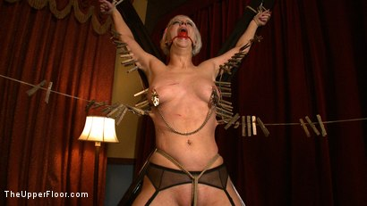 Photo number 4 from The Destruction of Torn shot for The Upper Floor on Kink.com. Featuring Cherry Torn in hardcore BDSM & Fetish porn.