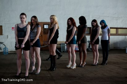 Photo number 1 from Day 1- Seven Slave Intake shot for The Training Of O on Kink.com. Featuring Iona Grace, Krysta Kaos, Missy Minks, Emma Haize, Coffee Brown, Minx Grrl and AnnaBelle Lee in hardcore BDSM & Fetish porn.