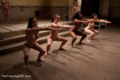 Photo number 9 from Day 1- Seven Slave Intake shot for The Training Of O on Kink.com. Featuring Iona Grace, Krysta Kaos, Missy Minks, Emma Haize, Coffee Brown, Minx Grrl and AnnaBelle Lee in hardcore BDSM & Fetish porn.
