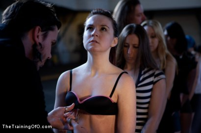 Photo number 5 from Day 1- Seven Slave Intake shot for The Training Of O on Kink.com. Featuring Iona Grace, Krysta Kaos, Missy Minks, Emma Haize, Coffee Brown, Minx Grrl and AnnaBelle Lee in hardcore BDSM & Fetish porn.