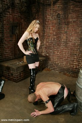 Photo number 4 from Billy Wild and Princess Kali shot for Men In Pain on Kink.com. Featuring Billy Wild and Princess Kali in hardcore BDSM & Fetish porn.