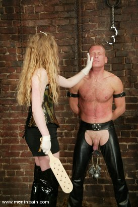Photo number 9 from Billy Wild and Princess Kali shot for Men In Pain on Kink.com. Featuring Billy Wild and Princess Kali in hardcore BDSM & Fetish porn.