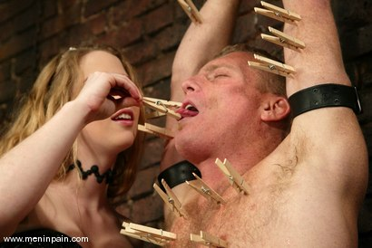 Photo number 5 from Billy Wild and Princess Kali shot for Men In Pain on Kink.com. Featuring Billy Wild and Princess Kali in hardcore BDSM & Fetish porn.