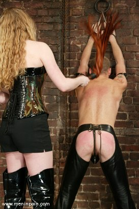 Photo number 3 from Billy Wild and Princess Kali shot for Men In Pain on Kink.com. Featuring Billy Wild and Princess Kali in hardcore BDSM & Fetish porn.